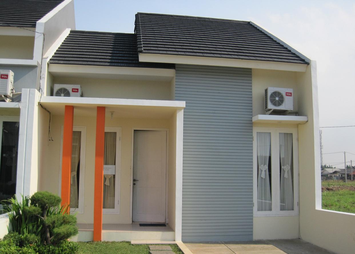 Contoh Rumah Minimalis Type 45 Dengan Foto Dan Gambar Ilustrasi